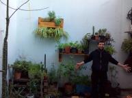 Maxi y su patio